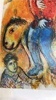 Marc Chagall Unframed Print 11x14