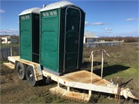 Custom 19' Dual Axle (2) Restroom Trailer