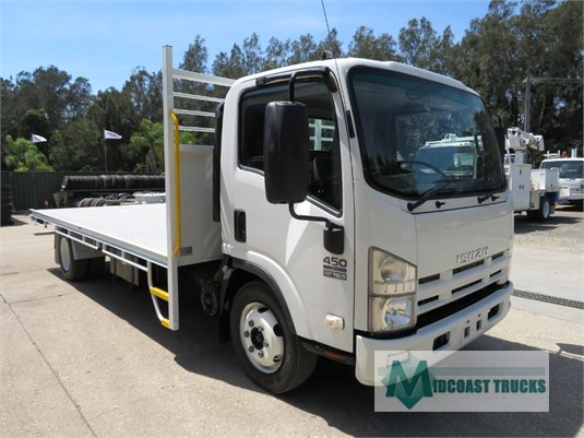 2008 Isuzu NQR 450 Long Midcoast Trucks - Trucks for Sale