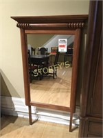 Maple Dresser / Wall Mirror - 31 x 58
