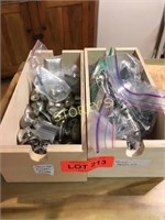 2 Boxes of Knobs & Handles