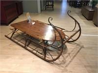 McLaughlin Sleigh Coffee Table ~ 36 x 72 x 15
