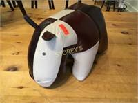 All Leather Display Animal - Canadian Made