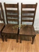 Ladder Back Ambrosia Maple Side Chair
