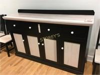 Ambrosia Maple Sideboard - 72 x 20 x 42
