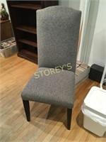 Gamel Back Grey Parson Chair