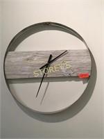 "24"" Barnboard Wall Clock"