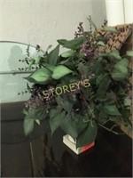 Faux Flower Display