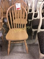 Oak Paddle Back Dining Chair