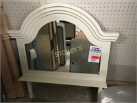 White Maple Accent / Dresser Mirror - 29 x 36