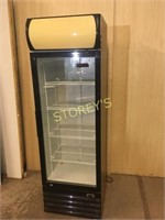 New Air Single Dr Glass Cooler - NGR-036-H