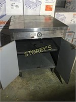 S/S Heated Cabinet - 29 x 30 x 36
