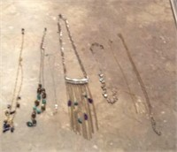 Jewelry Box & Necklaces