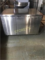 4' S/S Refrigerated Work Top Cabinet