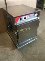 Bevles Rolling Heated Cabinet w/ Pass Thru