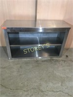 S/S Wall Cabinet - 48 x 16 x 30