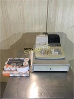 Casio PCR-36S Cash Register w/ Key