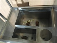 S/S Steam Table - 30 x 24 x 67