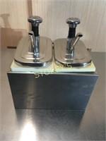 Dbl S/S Syrup Pump