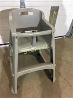 High Chair on Wheels