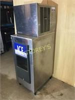 Crystal Tips 400lb Ice Machine w/ dispenser