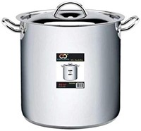 CONCORD STAINLESS STEEL STOCKPOT HEAVY DUTY (80QT)