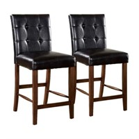 ROCKFORD 1 COUNTER HEIGHT CHAIR W/ LEATHERETTE