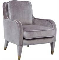 CHIC HOME DESIGN TZIVIA ACCENT CHAIR IN GREY