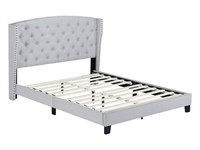 ROSEMARY QUEEN UPHOLSTERED BED HEADBOARD,