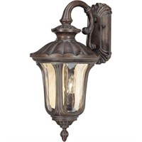 OUTDOOR FRUITWOOD MID-SIZE WALL LANTERN