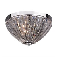 STERLING INDUSTRIES CLEAR ACRYLIC SEMI FLUSH
