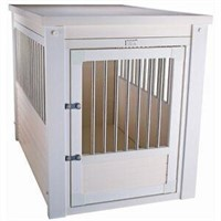 NEWAGEPET HABITAT' N HOME CRATE WITH STAINLESS