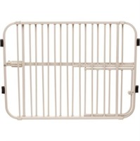 LIL TUFFY EXPANDABLE GATE WITH SMALL PET DOOR