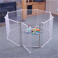 REGALO 4 IN 1 PLAY YARD SAFETY GATE