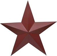 """SET OF 2 CRAFT OUTLET 36"""" ANTIQUE STAR WALL DECOR"""