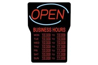 ROYAL SOVEREIGN LED OPEN SIGN BOARD