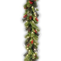 NATIONAL TREE COMPANY 9FT PRE LIT GARLAND