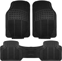 3 PIECES FH GROUP ALL WEATHER CAR FLOOR MATS