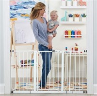 "REGALO 56"" EXTRA WIDESPAN WALK THROUGH BABYGATE"