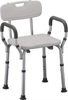 NOVA SHOWER AND BATH CHAIR WITH BACK AND ARM