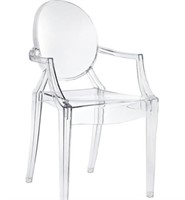 PLATA IMPORT GHOST TRANSPARENT CHAIR