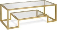 HENN  AND HART COFFEE TABLE (NOT ASSEMBLED)
