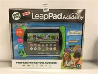LEAP FROG LEAP PAD ACADEMY AGE 3-8 YEARS