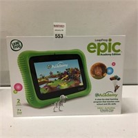 LEAP FROG EPIC ACADEMY EDITION AGE 3-9 YEARS