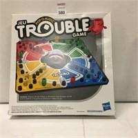HASBRO TROUBLE GAME AGE 5+