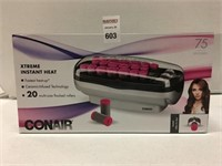 20 PCS CONAIR MULTI-SIZED FLOCKED ROLLERS