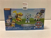 SPIN MASTER PAW PATROL ACTION PUP SET AGE 3+