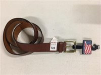 COLONIAL LEATHER BELT SIZE 38