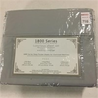 1800 SERIES 4 PIECE SHEET SET, FULL