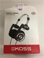 KOSS ON EAR HEADPHONE